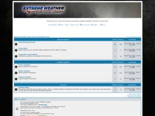 Extreme Weather Chase Team Forum