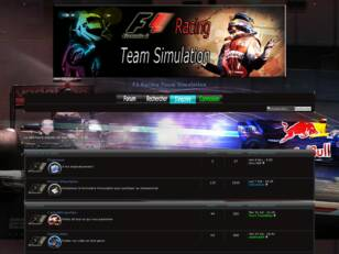 F1 Racing Team Simulation