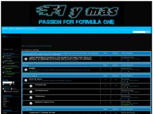 F1 y mas. Passion for fórmula one