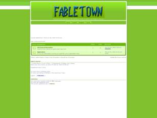 Free forum : FableTown