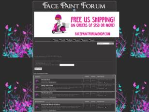 Face Paint Forum