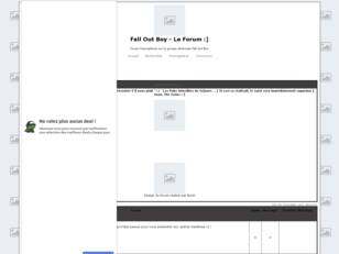 Forum Francophone #_Fall Out Boy =]