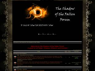 Shadow of the Fallen Forum