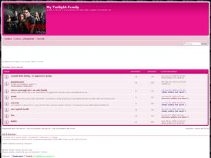 Forum gratis : My Twilight-Family