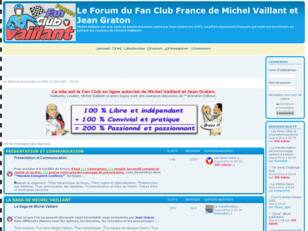 Le Forum du Fan Club de Michel Vaillant et Jean Graton