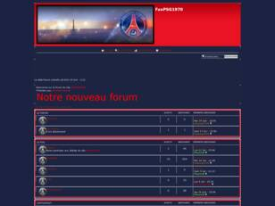 FanPSG1970 : le forum officiel du site