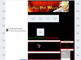 Dragon ball world-Le forum