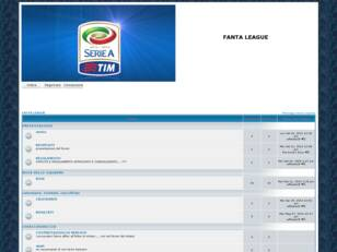 Forum gratis : FANTA LEAGUE