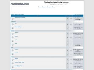 Pirates Fantasy Footy League