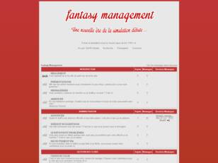 Fantasy Management