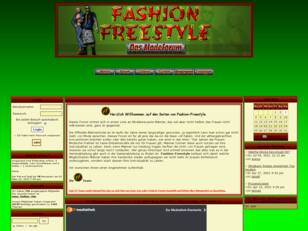 Fashion Freestyle - Das Modeforum mit Chat
