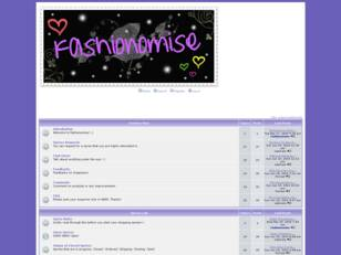 Welcome to Fashionomise! :)
