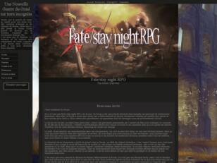 Fate Stay Night RPG - forum rp fantasy et fantastique