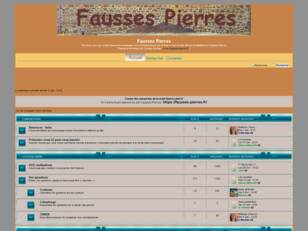 Forum : Fausses Pierres