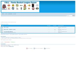 Forum gratis : F.B.L. - Fanta Basket League