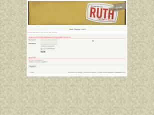 Forum Bible Study: Ruth
