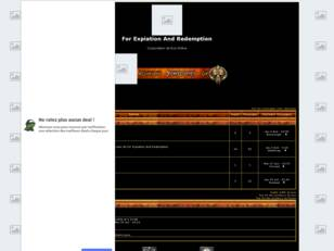 Forum gratuit : Forum For Expiation And Redemption