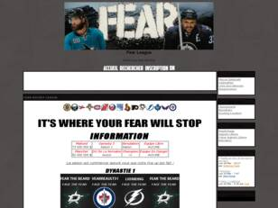 | Fear Hockey League |