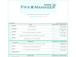 Fifa12 Manager