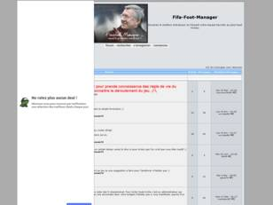 creer un forum : Fifa-Foot-Manager
