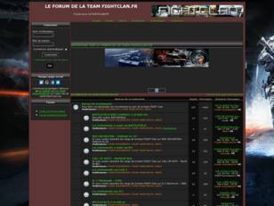 LE FORUM DE LA TEAM FIGHTCLAN.FR