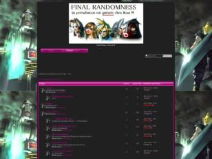 creer un forum : FinalRandomness