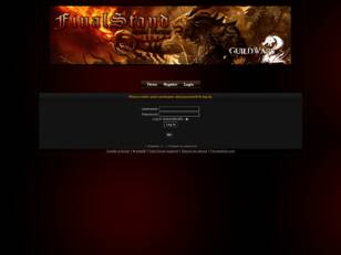FinalStand: Home Page