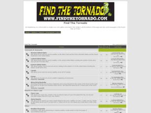 Find The Tornado Severe Weather Forum