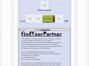 Find Your Partner  = FYP
