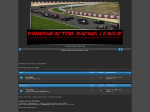 FinnishFactor Racing League Forum
