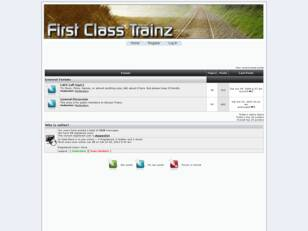 First Class Trainz : A group of creators of various skills, working on