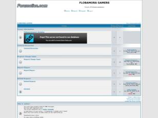 Free forum : FLOBAMORA GAMERS