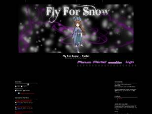 Fly For Snow Forum