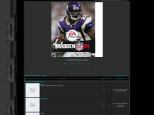 Free forum : Madden 09 Simulation League