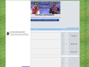 creer un forum : FOOTBALL ENTRAINEUR