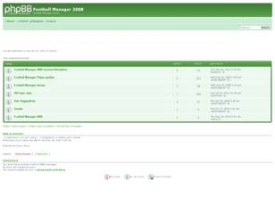 Free forum : Football Manager 2008