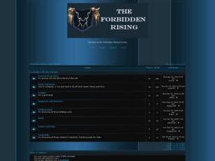 Forbidden Rising Guild Forums