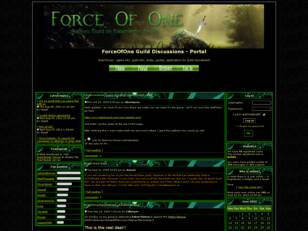 Free forum : ForceOfOne Guild Discussions