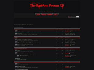 Free forum : The Random Forum XD