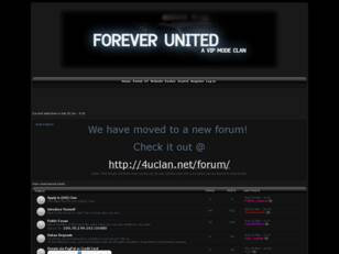 Forever United Clan Forum