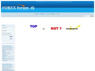 Welcome to FOREX FORUM.tk