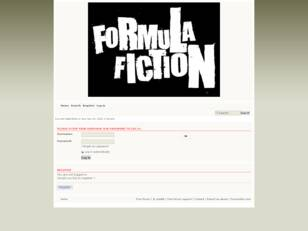 Formula Fiction