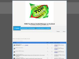 Foro Top Eleven Football Manager en Facebook