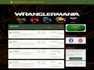 WranglerMania - portale e forum tecnico Jeep® Official Partner