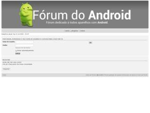 ...:::Fórum do Android:::...