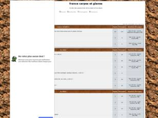 Forum gratuit : france carpe et glane