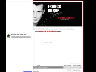 FRANCK BORDE | FORUM OFFICIEL