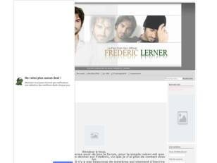 Frederic LERNER//Le fan club non officiel