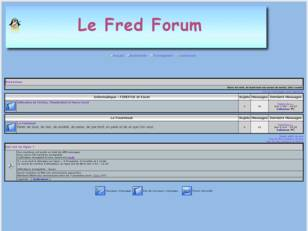 Le fred Forum
