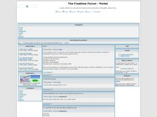 The freetime forum